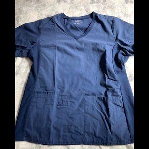 Cherokee Blue scrub top